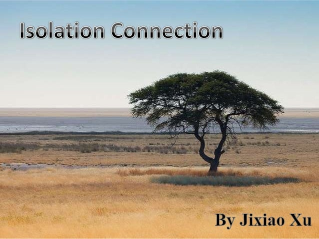 Isolation Connection