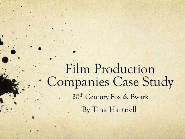 Film case studies