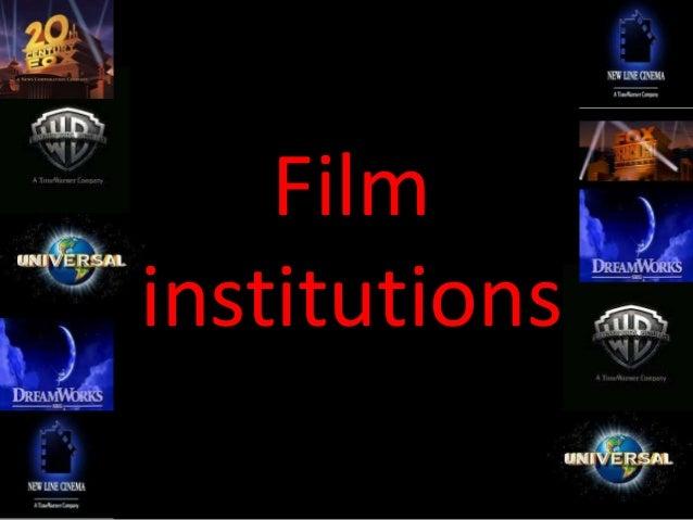 Film institutions