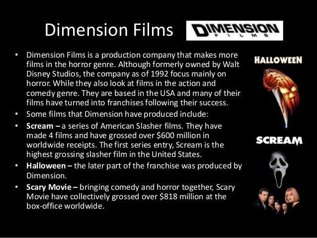 Dimension Films 1992 Dimension Films • Dimension