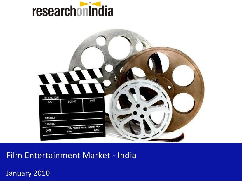 Film Entertainment Market - India - Sample