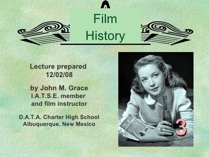 Film History 3