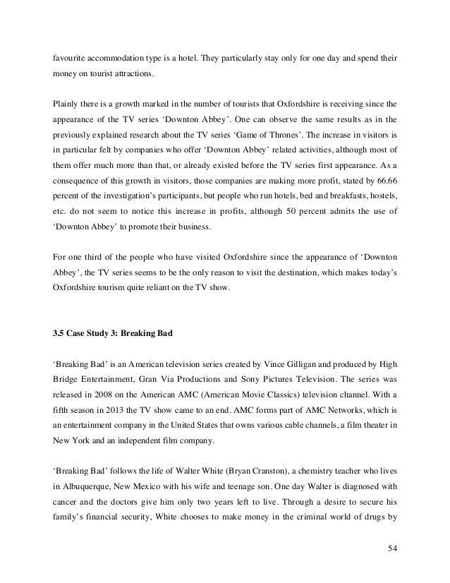 film and tv dissertation topics