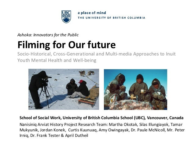 Ashoka: Innovators for the PublicFilming for Our futureSocio-Historical, Cross-Generational and Multi-media Approaches to ...