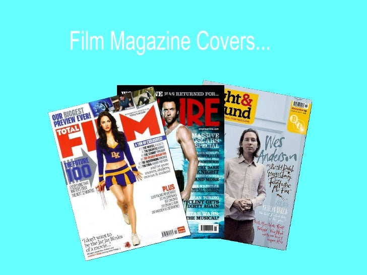 Film Magazine Deconstructions