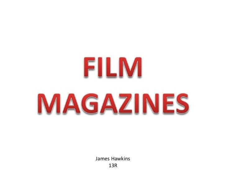Film Magazine Research
