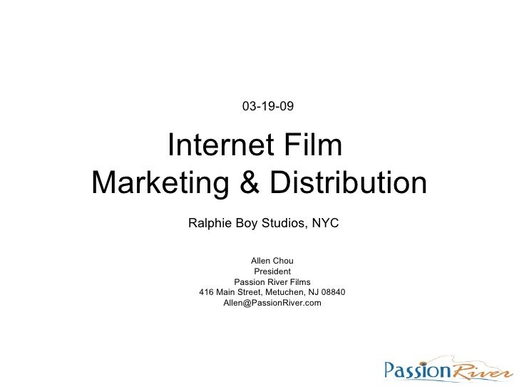 Film Marketing and Distribution Seminar