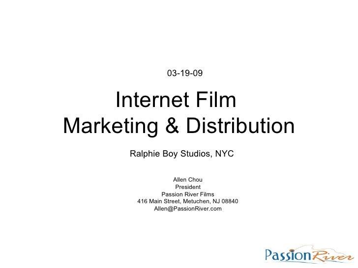 Film Marketing and Distribution Seminar