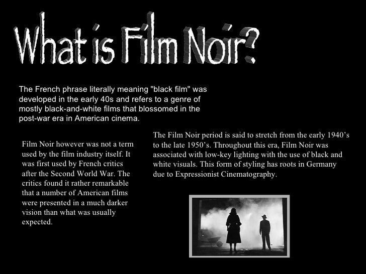 noir meaning