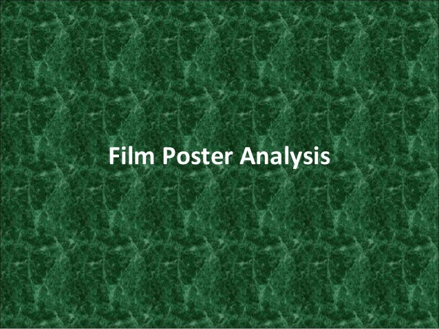 Film Poster Analysis