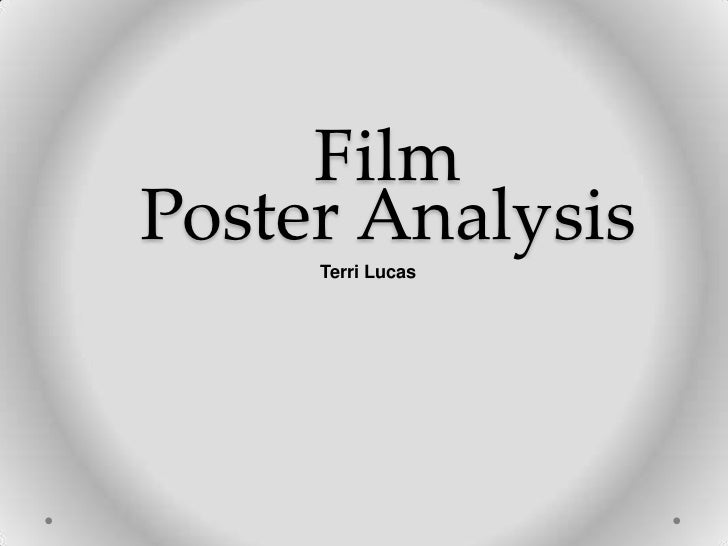 FilmPoster Analysis     Terri Lucas