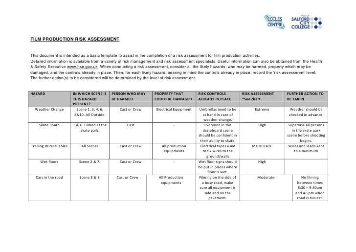 Film production risk_assessment_ig5_