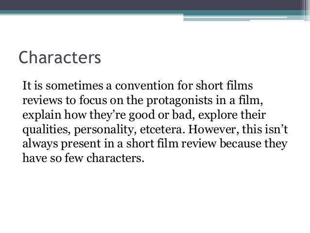 Review films
