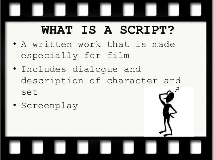 Analysing And Interpreting Scripts - Lessons - Tes Teach