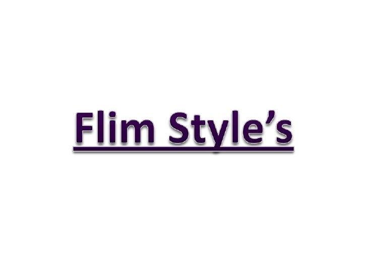 Film style's