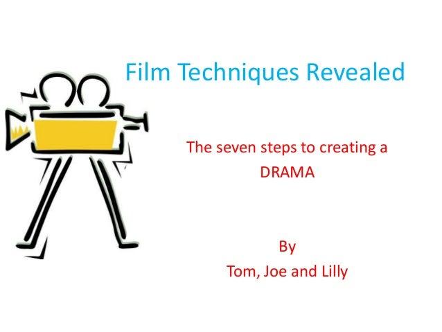 Film techniques revealed
