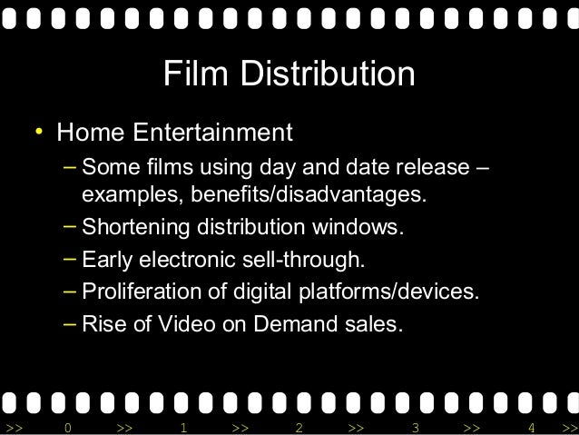 thesis paper of film distribution