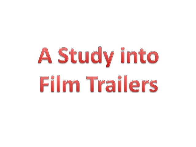 A trailer is a form of marketing that condenses the film into its most entertaining and enjoyable moments. Trailers can be...