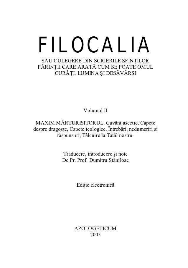 Filocalia 02