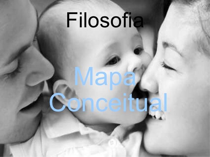 Filosofia Mapa Conceitual