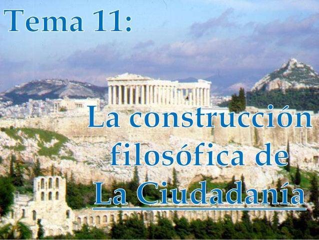 Índice1. Introducción2. Ciudadanía Grecolatina3. Ciudadanía Moderna4. Dimensiones de la Ciudadanía Contemporánea• Definici...
