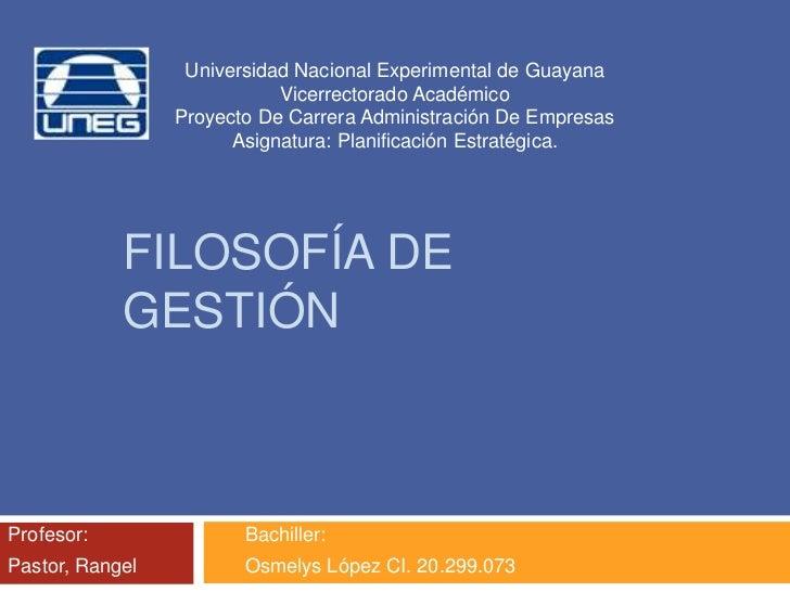 Universidad Nacional Experimental de Guayana                            Vicerrectorado Académico                 Proyecto ...