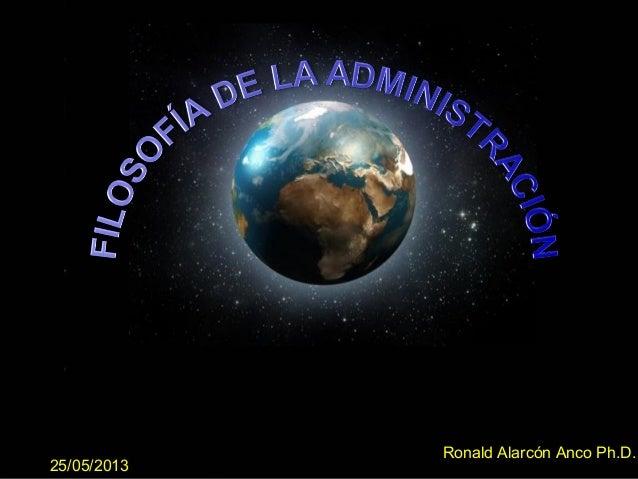 Page 1Ronald Alarcón Anco Ph.D.25/05/2013