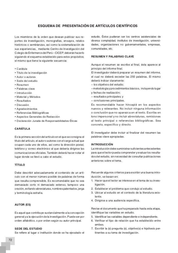 REVISTA CIENTÍFICA DE ENFERMERÍA – RECIEN                                  María del Pilar RODRÍGUEZ QUEZADA y Pedro Segun...
