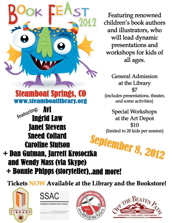 2012 Book Feast Poster