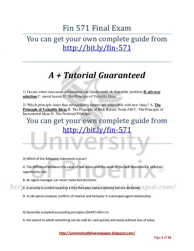 university of phoenix mba marketing 571 final exam The available study material on this online tutorial is university of phoenix mkt 571 individual assignments and mkt 571 complete course you will get uop mkt 571 final exam discussion, questions, answers.
