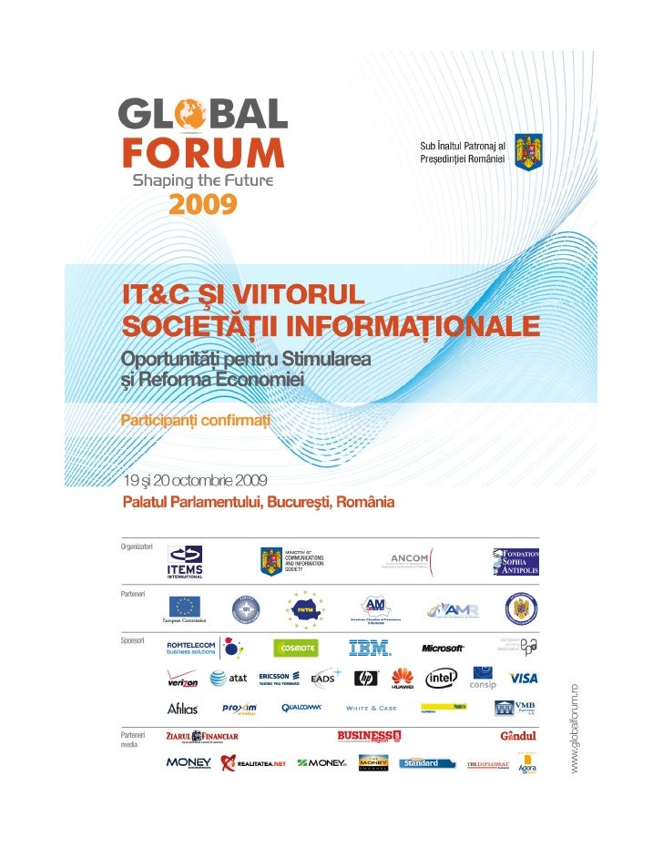 Global Forum editia 2009, Romania