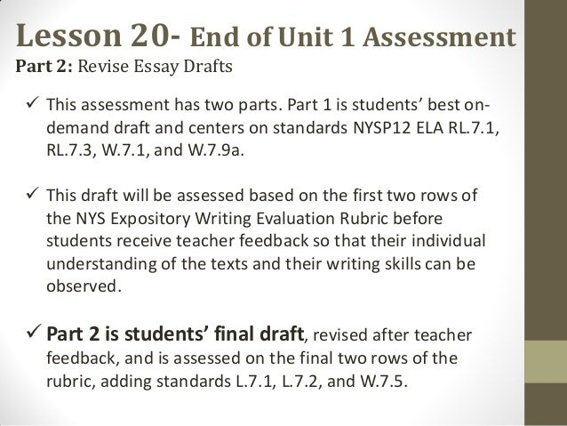 revised essay review and final draft Simple steps to writing, revising and editing an essay writing a good essay requires refined critical thinking.