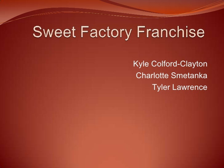 Sweet Factory Franchise