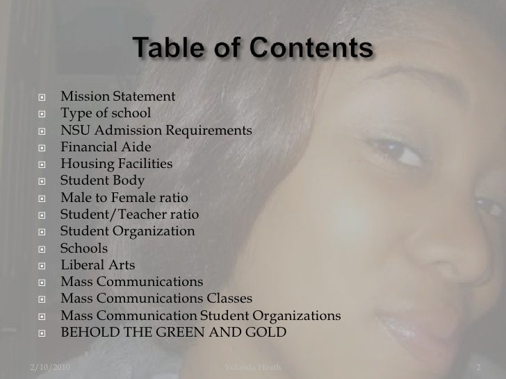 Norfolk state university admission essay