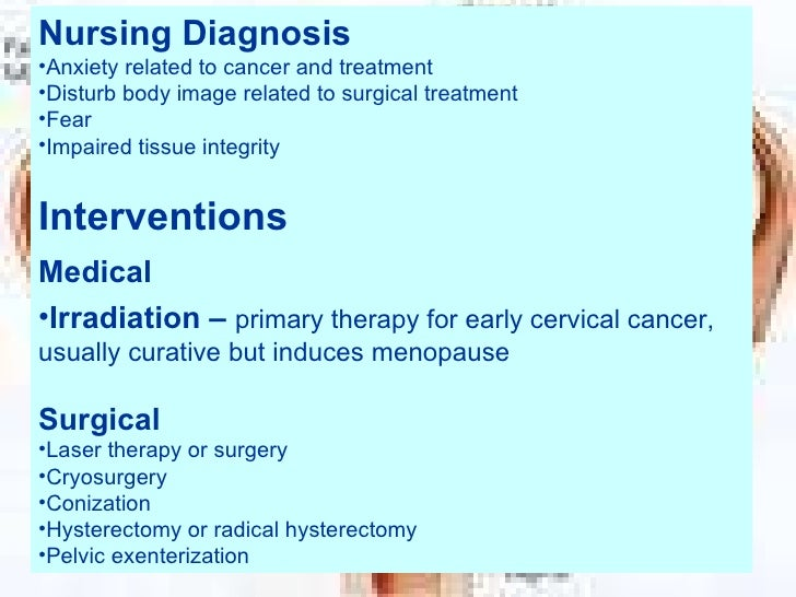 nursing care plan for hysterectomy