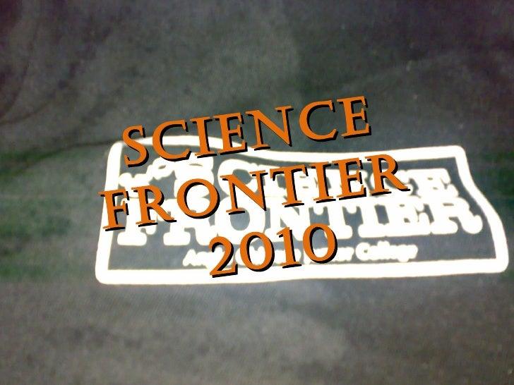 Science Frontier  2010