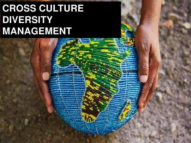 Cross Cultural Diversity Management