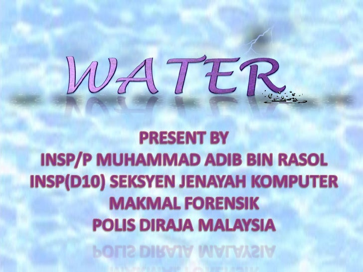 IntroductionWater PropertiesWater CycleConclusion