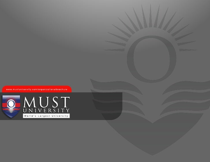 MUST University – First Choice of Working Adults