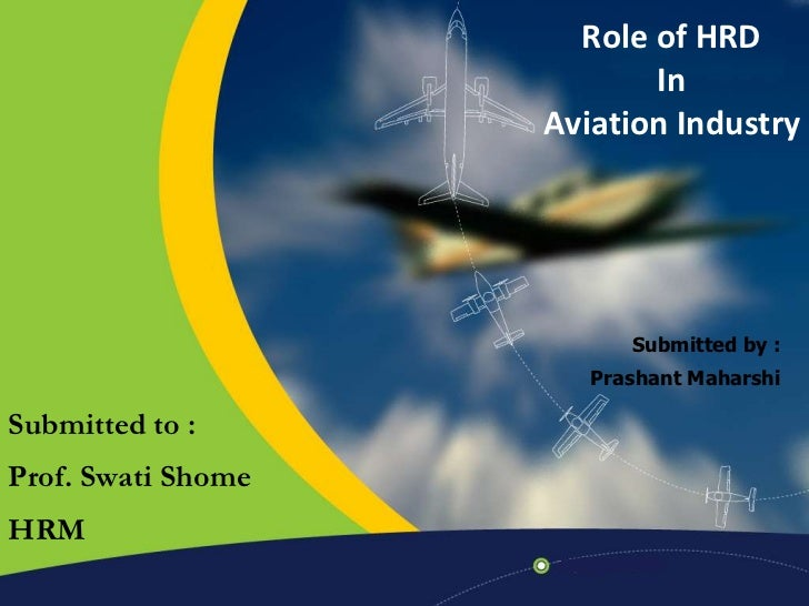 Role of HRD in Aviation Industry