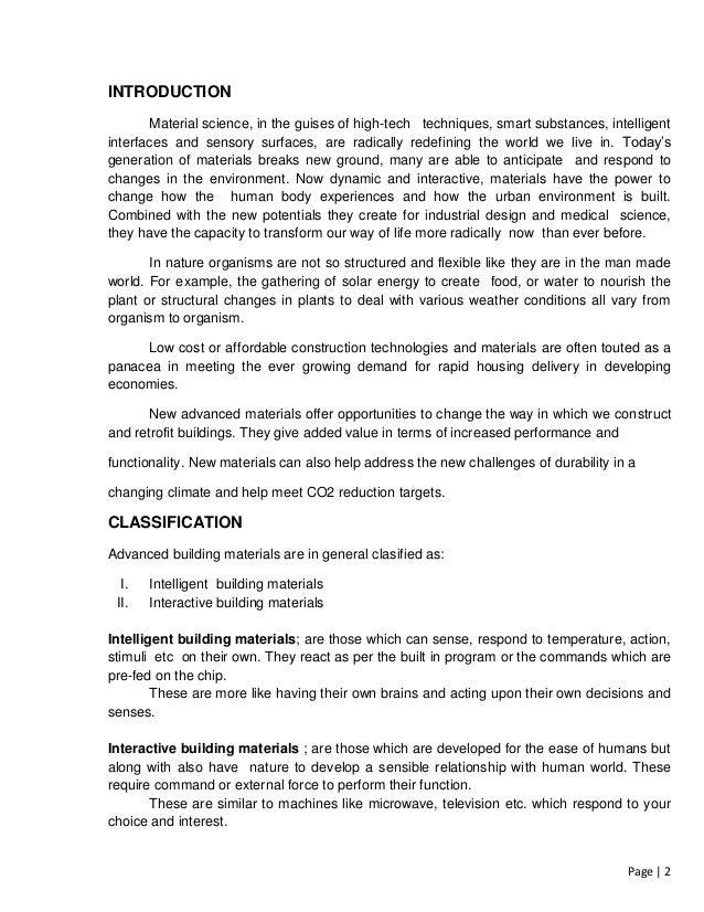 alternative building materials pdf