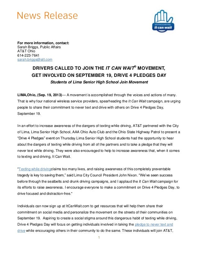 Final   13.9.19 - lima aaa icw drive 4 pledges release