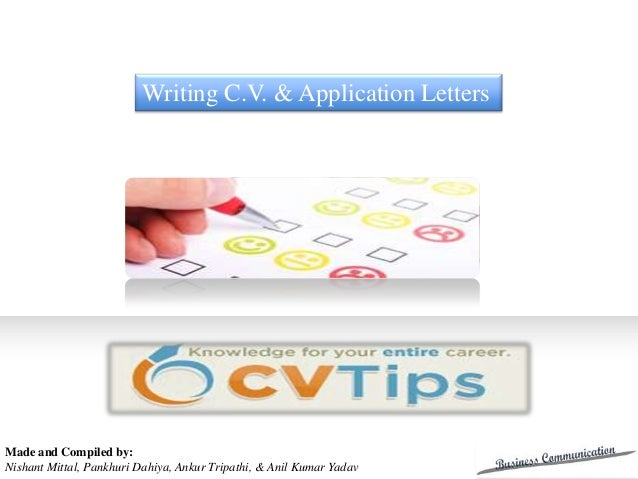 Writing C.V. & Application Letters                                                     Grant Proposal                     ...
