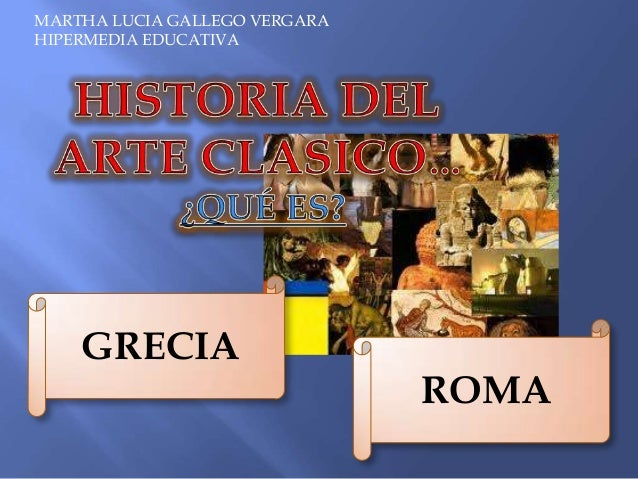grecia y arte: