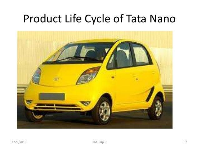 life cycle introduction for tata nano