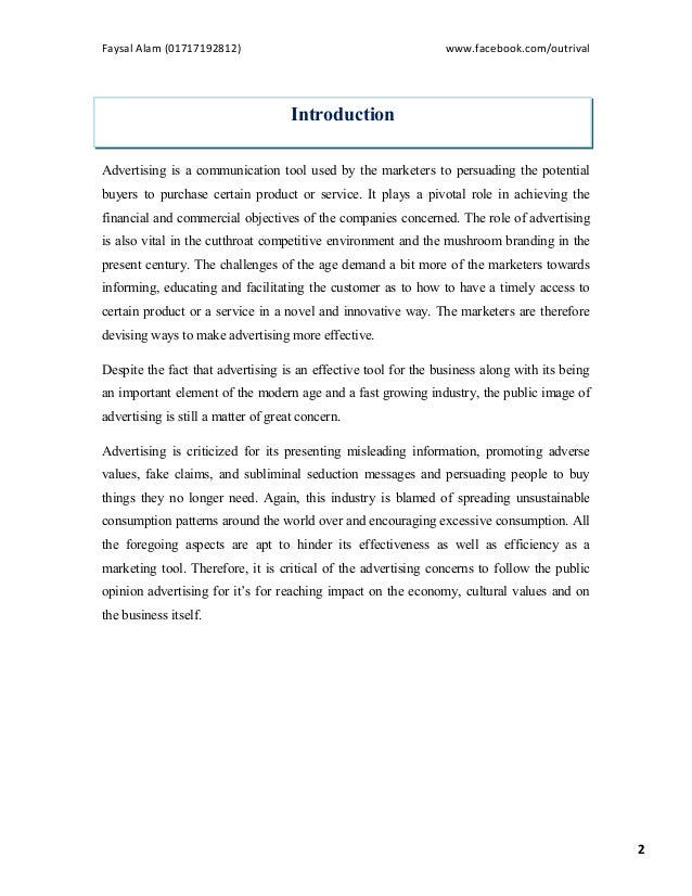 A Study on Bangladeshi Television Commercials (TVCs)