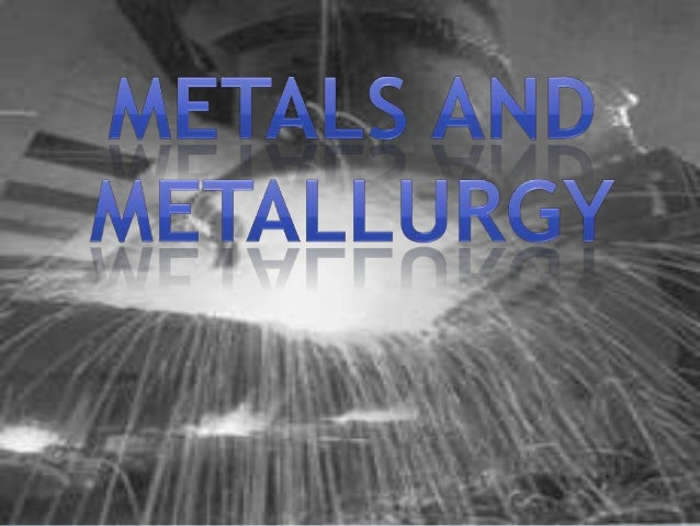 """* This Strategic Intervention Material is entitled """"Metals and Metallurgy"""". It aims to enhance learner's understanding on ..."""