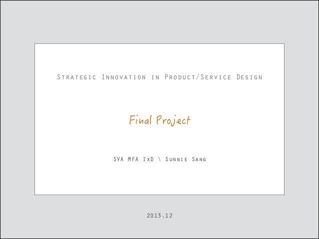 Innovation Strategy and Service Design - Athene