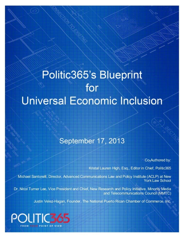 Final blue-print-365-policy-report