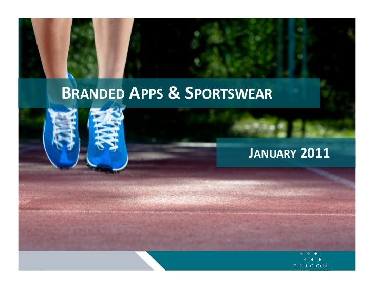 BRANDED APPS & SPORTSWEAR                       JANUARY 2011